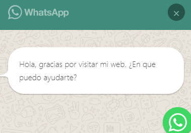 ¿Cómo instalar WhatsApp en WordPress? - WhatsApp me 1