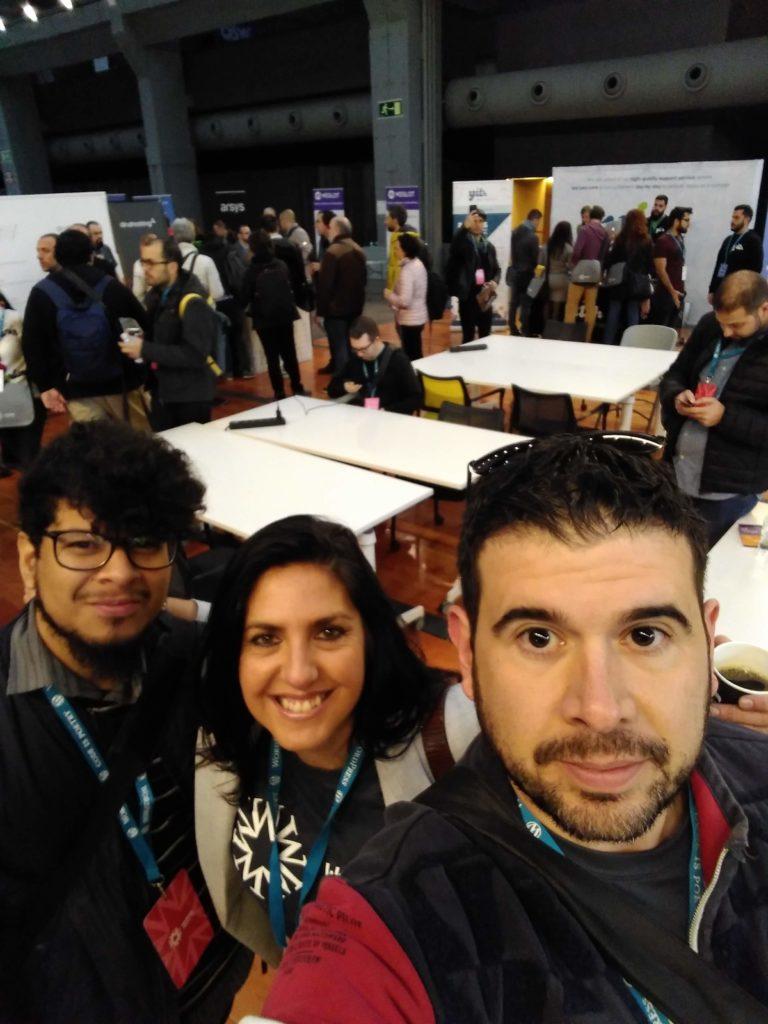 Wordpress cartagena en la Wordcamp Madrid
