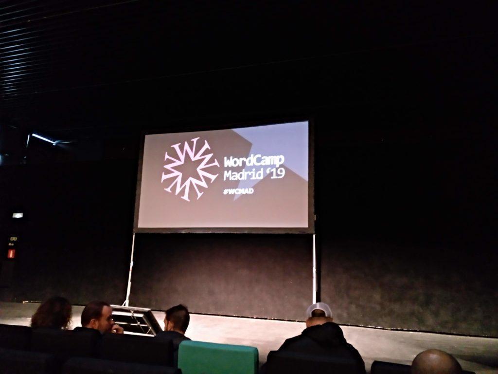 Presentación de la WordCamp Madrid 2019