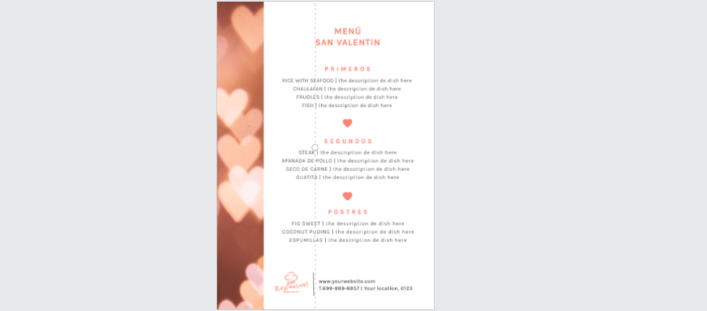 Edit.org; el programa online de diseño gráfico para restaurantes. 15